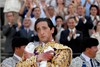 Adrien Brody (Manolete) in a sequence of the film.